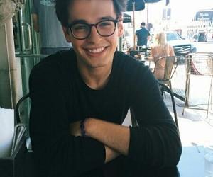 beautiful, boy, and glasses image