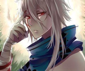 animal ears, white hair, and anime image