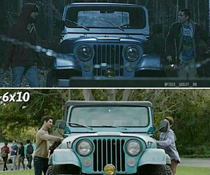 teen wolf, sciles, and scott image