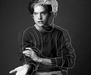 cole sprouse, art, and riverdale image