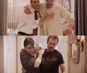 dr house, friendship, and gregory house image