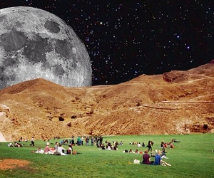 moon, lsd, and people image