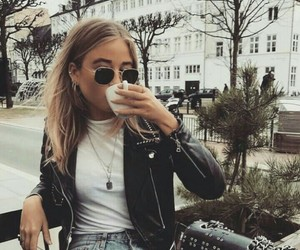 beauty, drink, and morning image