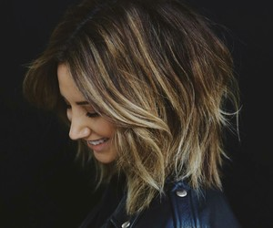 ashley tisdale, girl, and hair image