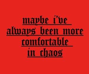 chaos, comfort, and tumblr image