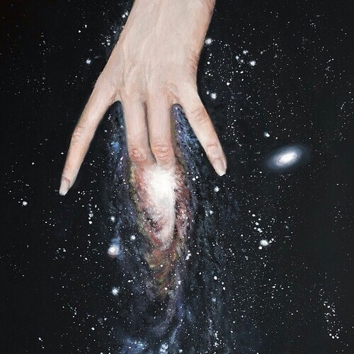 art, deep, and galaxy image