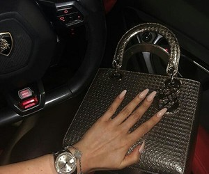bag, car, and dior image