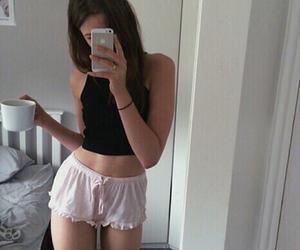 girl, body, and skinny image