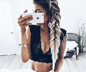 braid, hair, and goals image