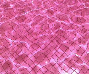 pink, pool, and tumblr image