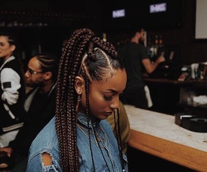 braids, girl, and pretty image