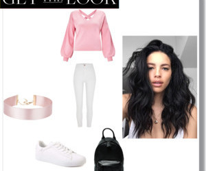 fashion, Polyvore, and hair image