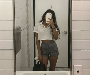 fashion, school, and outfit image