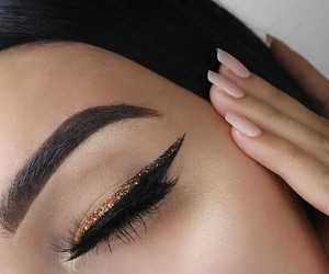 beauty, nails, and makeup image