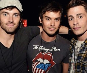 ian harding, tyler blackburn, and pll image