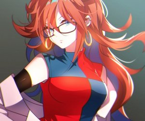 dragonball and android 21 image