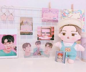 exo, pink, and sehun image