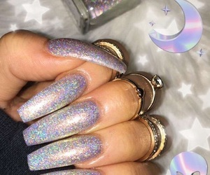 acrylics, Spark, and glitter image