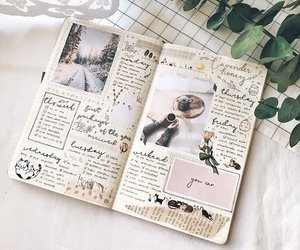 inspiration, journals, and journaling image