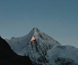 mountains, snow, and tumblr image