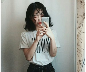 aesthetic, asian girl, and tumblr image