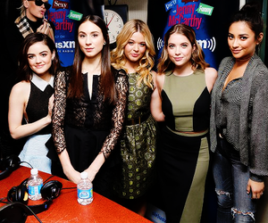 lucy hale, shay mitchell, and appearances image