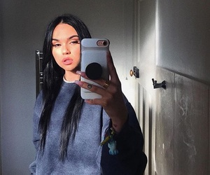 maggie lindemann, Maggie, and makeup image