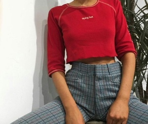 clothes and red image