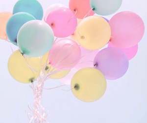balloons, colors, and lifestyle image