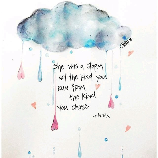 quotes, storm, and love image