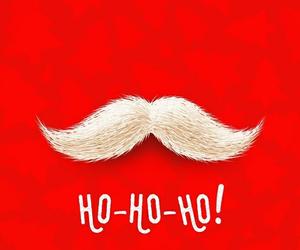 bigote, santa claus, and hohoho image