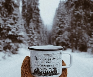 adventure, cold, and drink image