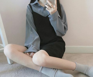 asian, looks, and oufits image