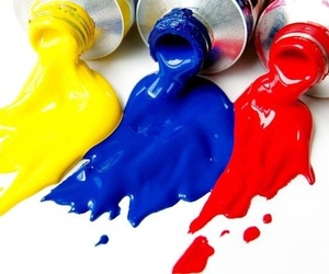 blue, red, and yellow image