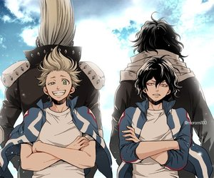 boku no hero academia, my hero academia, and shota image