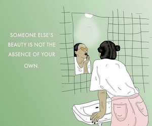 beauty, quotes, and empowerment image