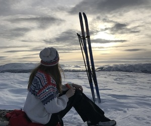 norway, ski, and snow image