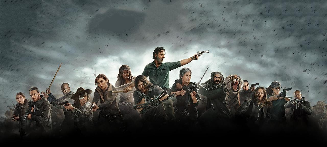 the walking dead, twd, and series image