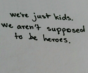 heroes, kids, and aesthetic image