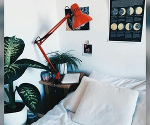 astrology, bright red, and bedroom image