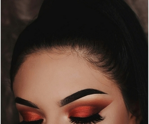 aesthetic, smokey eyes, and tumblr image