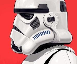 art, clone, and star wars image