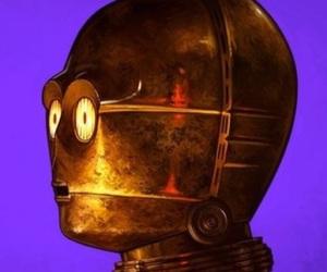 artwork, C-3PO, and star wars image