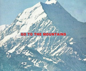 blue, mountains, and quotes image