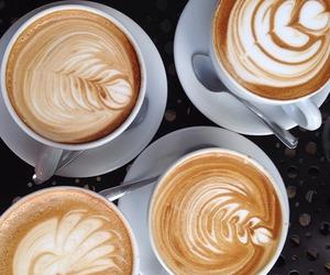 coffee, milk, and cuppa image