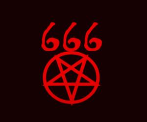 666 and satan image