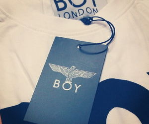 tee, white, and boy london image