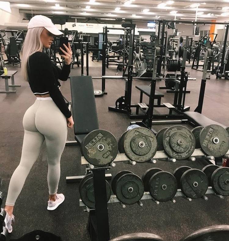 body, booty, and fit image