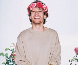 flower, flowers, and laughing image