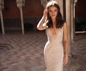 dress, formal, and girl image